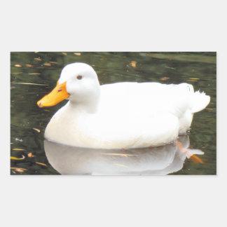 White Duck Stickers
