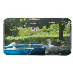 White Ducks and a Pool Barely There iPod Case