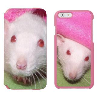 white Dumbo rats iPhone folio wallet case Incipio Watson™ iPhone 6 Wallet Case