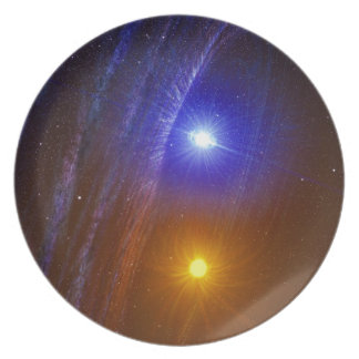 White dwarf and nova star plate