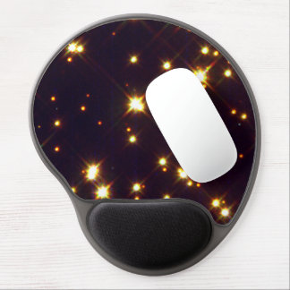 White Dwarfs Amid Sun-Like Stars and Red Stars Gel Mouse Pad