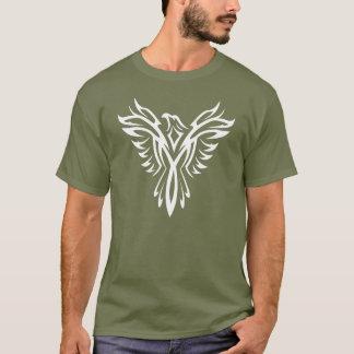 White Eagle Aquila Tribal Tattoo Design T-shirt