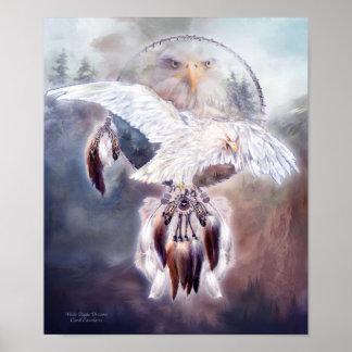 White Eagle Dreams 2 Art Poster/Print