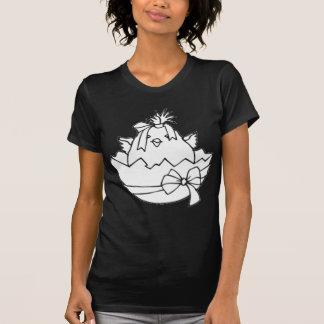 White Easter Egg Chick T-Shirt