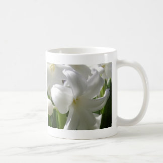 White Easter Lilly Classic White Coffee Mug
