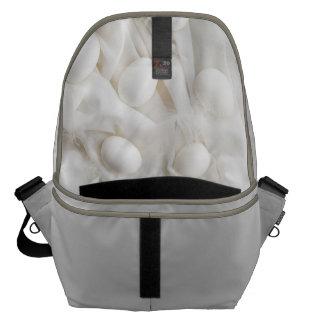 White eggs courier bag