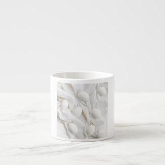 White eggs espresso cup