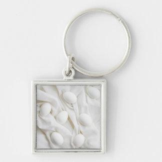 White eggs keychain