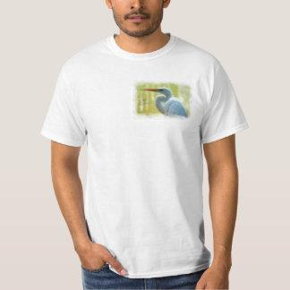 White Egret 1 Shirt