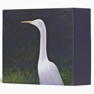 White Egret Binder