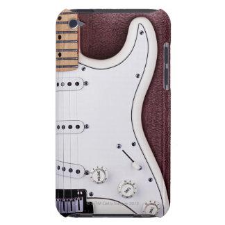 White Electric Guitar 2 iPod Case-Mate Case