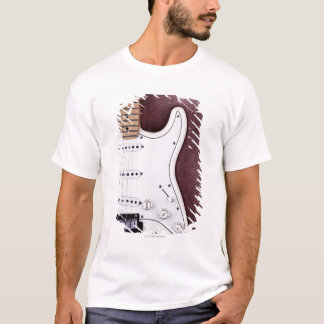 White Electric Guitar 2 T-Shirt