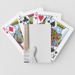 White Electric Guitar 3 Bicycle Playing Cards