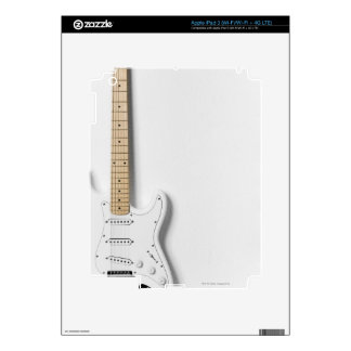 White Electric Guitar 3 iPad 3 Skin