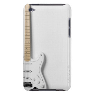 White Electric Guitar 3 iPod Touch Case