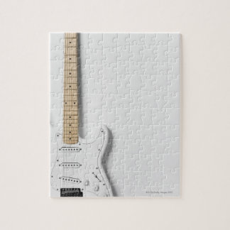 White Electric Guitar 3 Puzzle