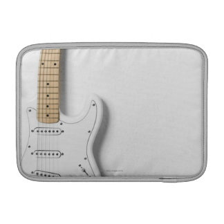 White Electric Guitar 3 Sleeve For MacBook Air