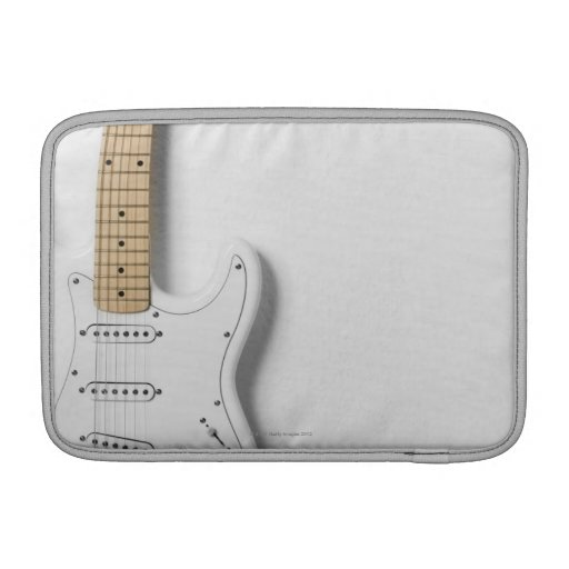 White Electric Guitar 3 Sleeves For MacBook Air