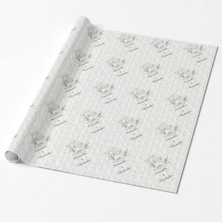 White Elegance #1 Gift Wrap Paper