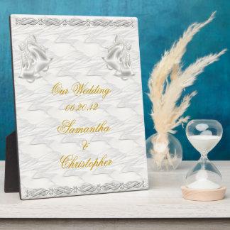 White Elegance #1 Plaque