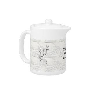 White Elegance #1 Teapot