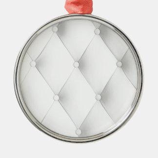 white elegant chic leather art deco cafe pattern ornament