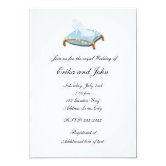 White Elegant Storybook Wedding Invitation
