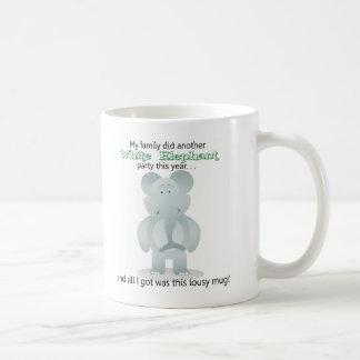 White Elepant Gift - Coffee Mug