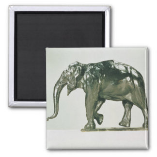 White Elephant 2 Inch Square Magnet