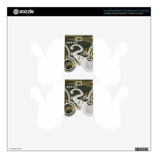 White Elephant and Animals by Ito Jakuchu Skin For PS3 Controller