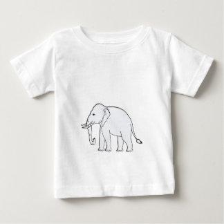 White Elephant Baby T-Shirt