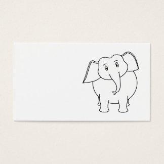 White Elephant. Business Card