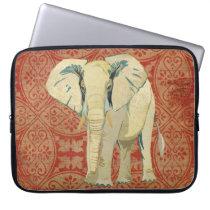 White Elephant Computer Sleeve
