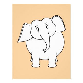 White Elephant. Full Color Flyer