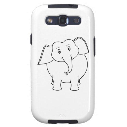 White Elephant. Galaxy S3 Cases