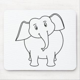 White Elephant. Mouse Pad
