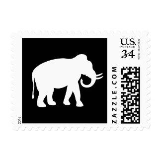 White Elephant Stamp