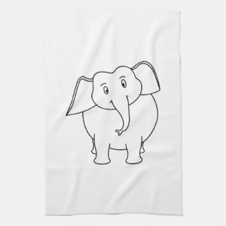 White Elephant. Towel
