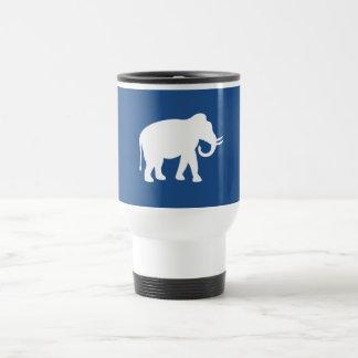 White Elephant Travel Mug