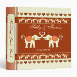 White Elephants Wedding Guestbook or Photo Binder
