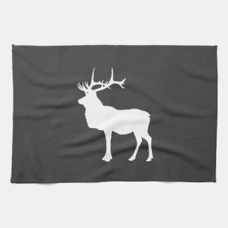 White Elk Hand Towel