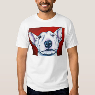 White English Bull Terrier Shirts