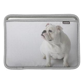 White English Bulldog MacBook Sleeve