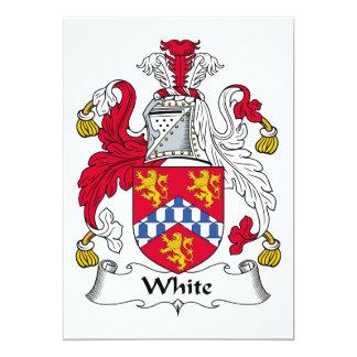 White (English) Invitations