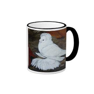 White English Trumpeter Coffee Mug