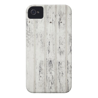 White Eroded Wood Pattern Design iPhone 4 Cover