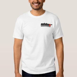 White EvolutionM.Net Shirt (Back w/ Pocket Logo)
