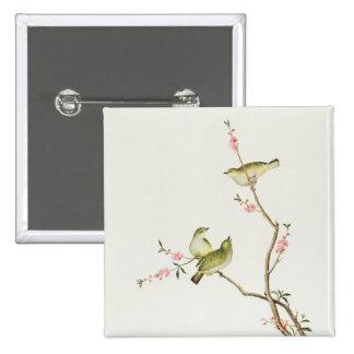 White-Eye bird, Ch'ien-lung period Pin