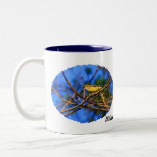 White-eyed Vireo on Mug