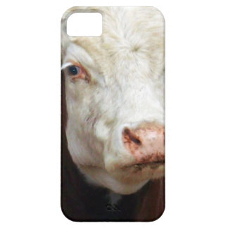 White_Face_Bull,_ iPhone SE/5/5s Case